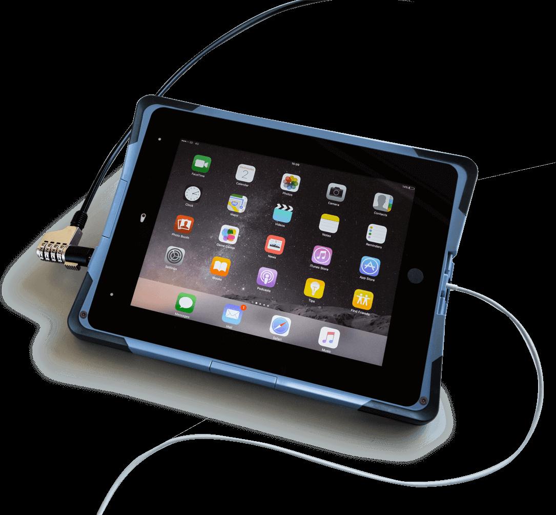 FlipPad Secure with Kensington Lock